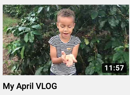My April VLOG